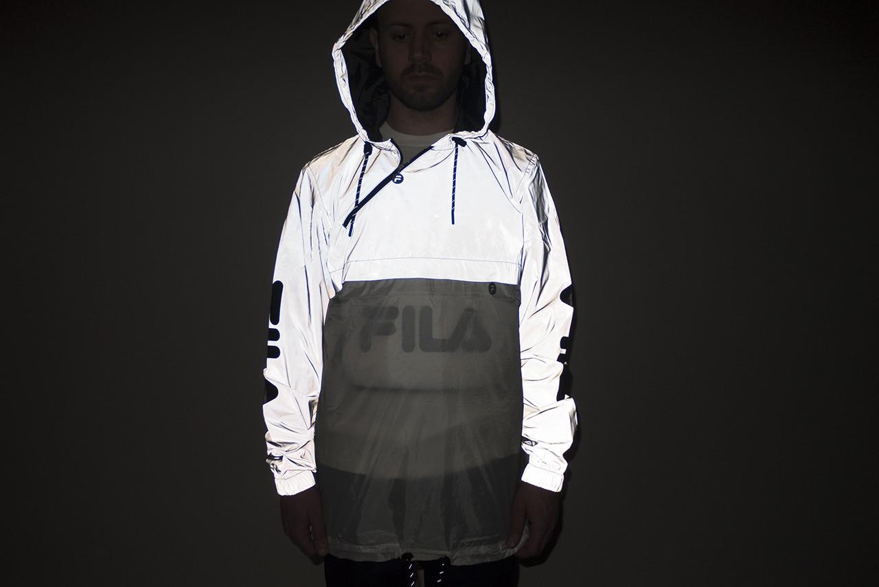 tukkukauppa uusi aito vakaa laatu Reflective Milonzo Alleyoop Silver Jacket Fila pRtTqOT