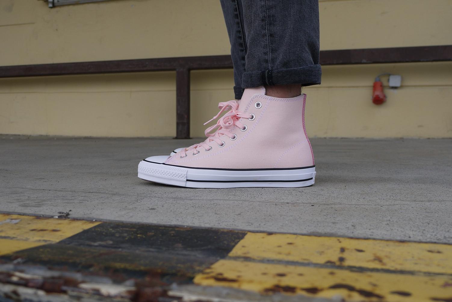 Converse CTAS Pro Hi Shoes Vapor Pink Pink Glow