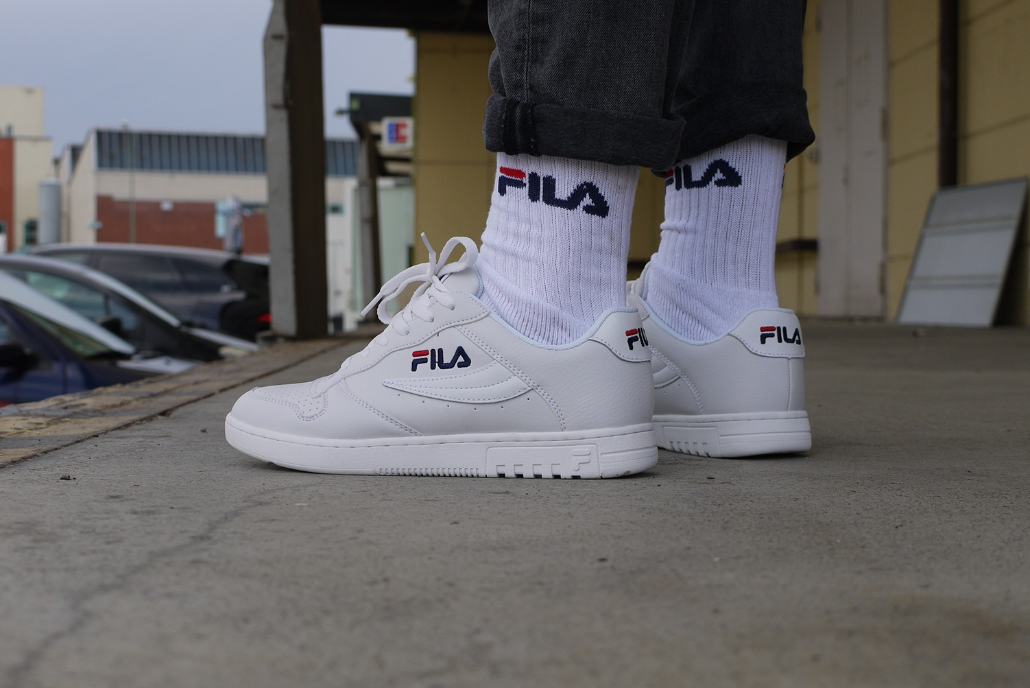 Fila FX-100 Heritage Low Mens Sneaker Shop