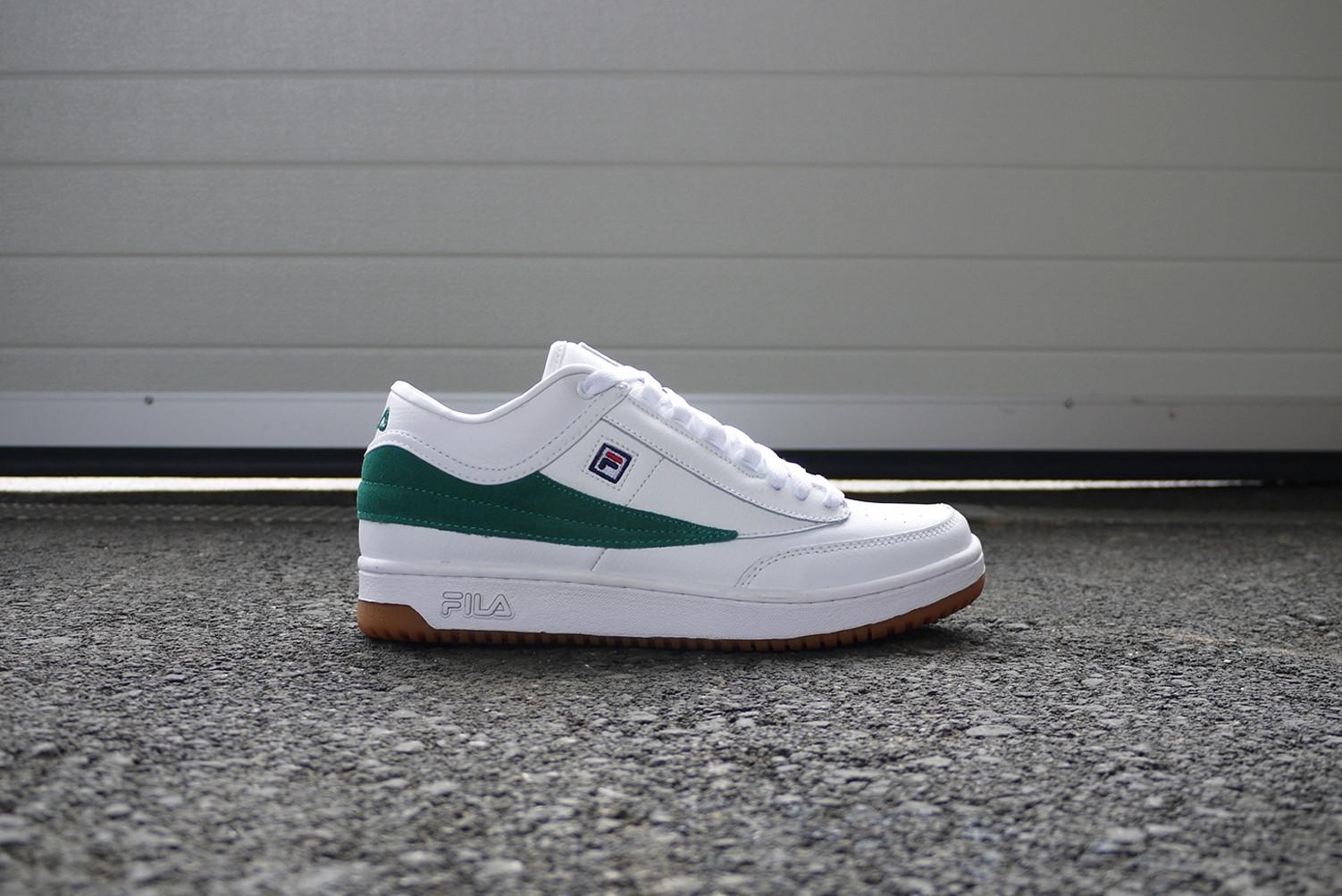 Fila T1 Mid white green