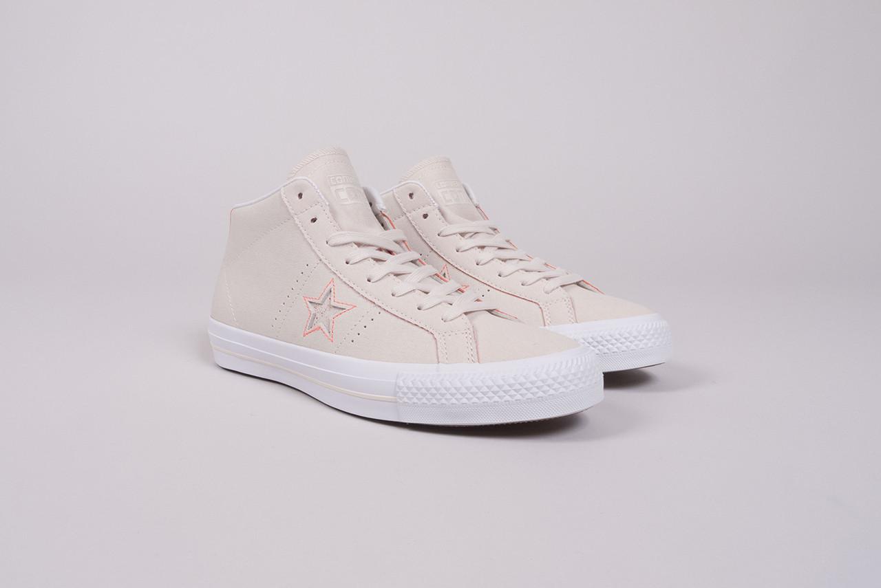 a9bb3279b00 Home · Footwear · Converse  One Star Pro Mid. Converse One Star Pro Mid  natural orange white ...